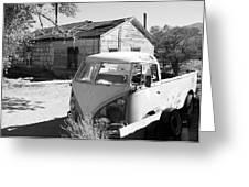 Abandoned Volkswagen Van Greeting Card