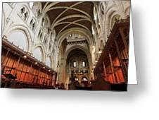 Abbey Church Of Saint Mary, Or Buckfast Abbey Greeting Card