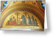 Abbey Mosaic Greeting Card