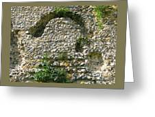 Abbey Ruins Greeting Card