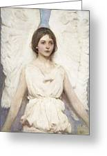 Abbott Handerson Thayer - Angel Greeting Card