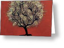 Abc Tree Greeting Card