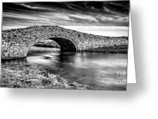 Aberffraw Bridge V2 Greeting Card