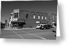 Abilene, Kansas - Cedar And 3rd II Greeting Card