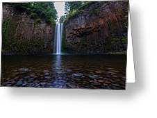 Abiqua Falls 2 Greeting Card