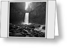 Abiqua Falls Amphitheater  Greeting Card