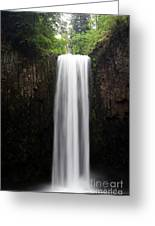 Abiqua Falls Greeting Card