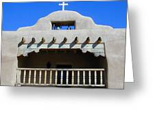 Abiquiu Church Number 2 Greeting Card by Joseph R Luciano