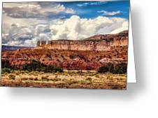 Abiquiu Landscape  Greeting Card