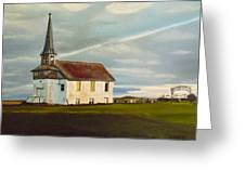 Abondoned Church Greeting Card