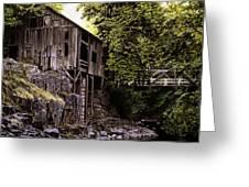 Above Cedar Creek Greeting Card by Craig Shillam