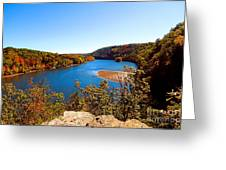 Above The Housatonic Greeting Card