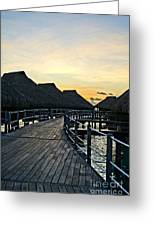 Above The Water II Greeting Card