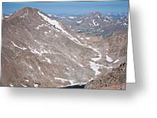 Above Treeline Greeting Card