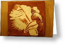 Abraham - Tile Greeting Card
