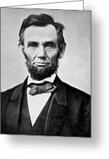 Abraham Lincoln -  Portrait Greeting Card