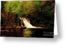 Abrams Falls Greeting Card