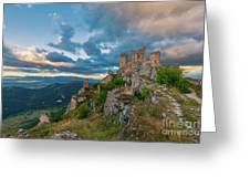 The Last Stronghold, Italy  Greeting Card