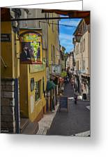 Absinthe In Antibes Greeting Card