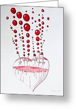 Absolution Of Amour Greeting Card