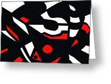 Abstrac7-30-09 Greeting Card