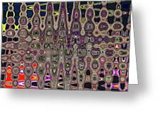 Abstract # 7952 3wa Greeting Card