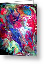Abstract - Evolution Series 1003 Greeting Card