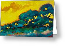 Abstract 01 Greeting Card