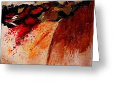 Abstract 010607 Greeting Card