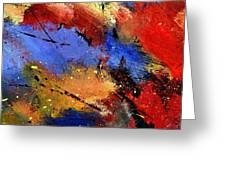 Abstract 012110 Greeting Card