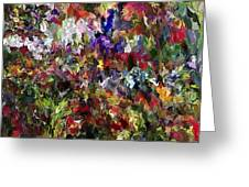 Abstract 032215 Greeting Card