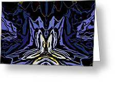 Abstract 032811-1 Greeting Card