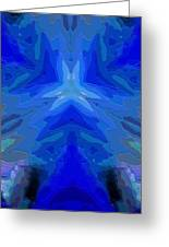 Abstract 032811-2 Greeting Card