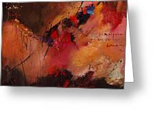 Abstract 0408 Greeting Card