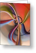 Abstract 0414111 Greeting Card