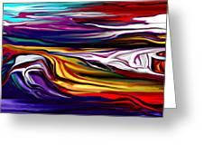 Abstract 06-12-09 Greeting Card