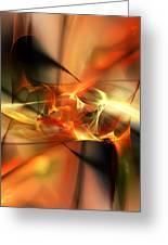 Abstract 060110a Greeting Card
