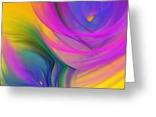 Abstract 060611b Greeting Card