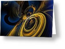 Abstract 060910 Greeting Card
