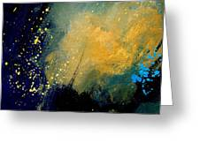 Abstract 061 Greeting Card by Pol Ledent