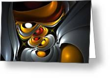 Abstract 061010 Greeting Card