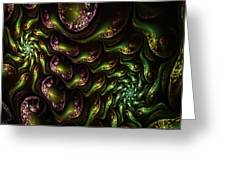 Abstract 062210 Greeting Card