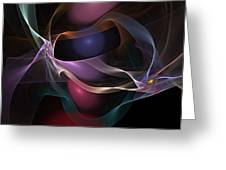 Abstract 062310 Greeting Card