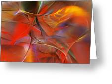 Abstract 062910a Greeting Card