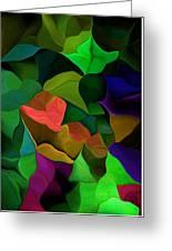 Abstract 063016 Greeting Card