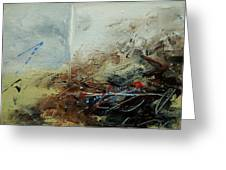 Abstract 070408 Greeting Card by Pol Ledent