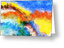 Abstract 070411 Greeting Card