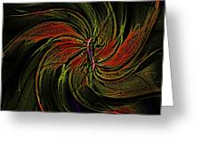 Abstract 070810a Greeting Card