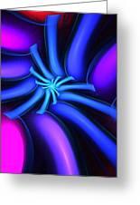 Abstract 080610b Greeting Card