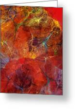 Abstract 081310 Greeting Card